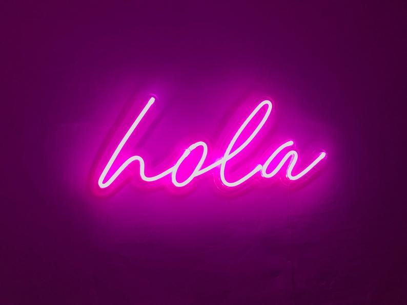 Custom Led Neon Sign. Unique Hand Crafted Neon Signs Made Just For You!