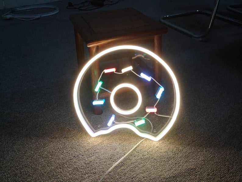 Donut LED Neon Sign