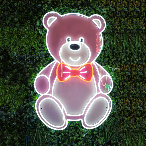 Big Teddy LED neon sign