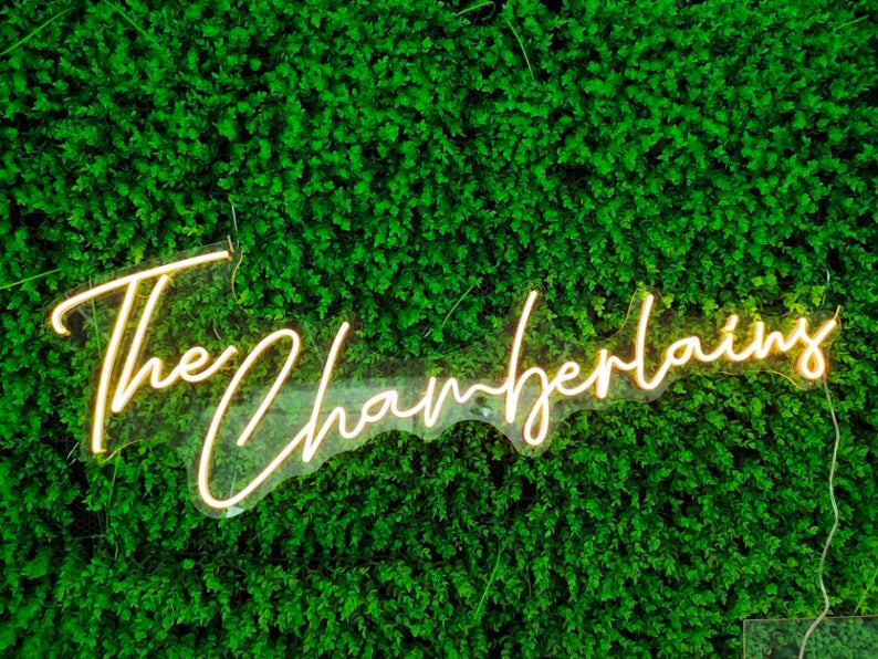 Wedding Custom Neon Sign Flex Led Neon Light Sign Led Logo Custom Neon Sign Bride Party Room Decoration