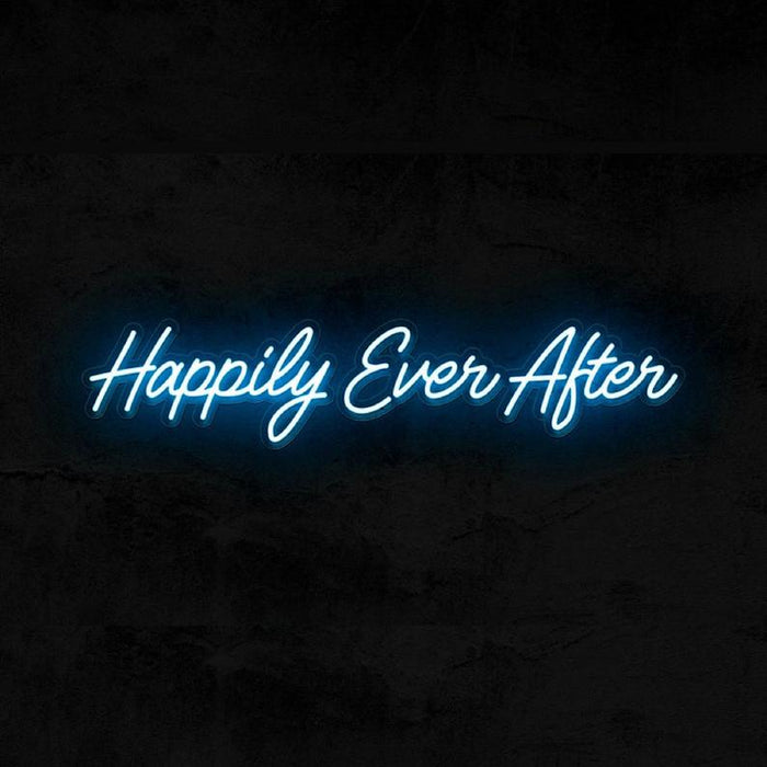 Happily Ever After | Wedding Neon Sign - Ever After, Neon Happily Ever After, Happily Ever After Sign, Neon Wedding Sign, Wedding Wall