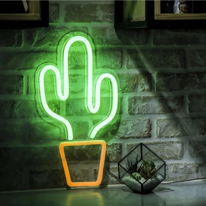 Cactus | Led Neon Sign, Home Decor, Cactus Wall Art, Cactus Art, Neon Cactus Sign, Cactus Party, Cactus Lights, Cactus Theme Party