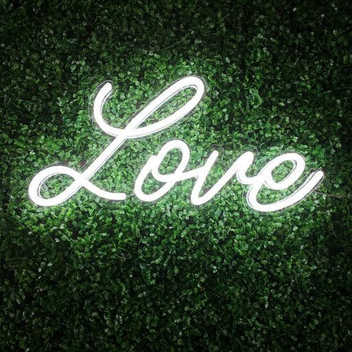 Love Neon Sign | Wedding Neon Sign | Handwritting Neon Sign