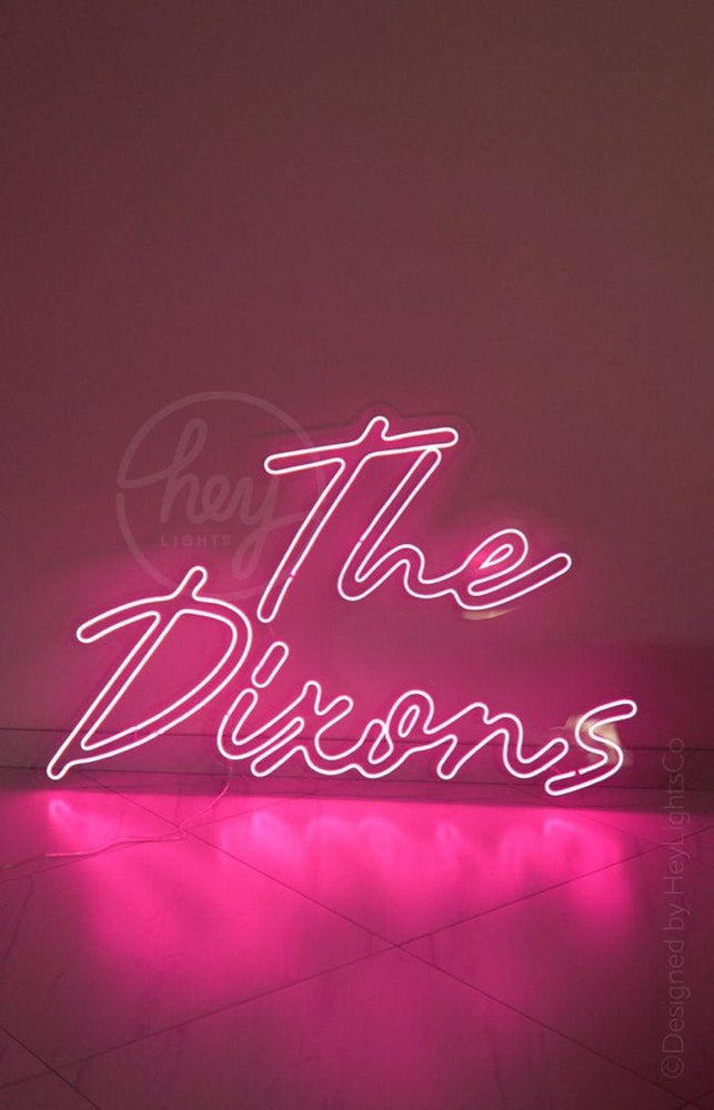 Wedding Custom Led Neon Sign. Unique Hand Crafted Neon Signs Made Just For You!