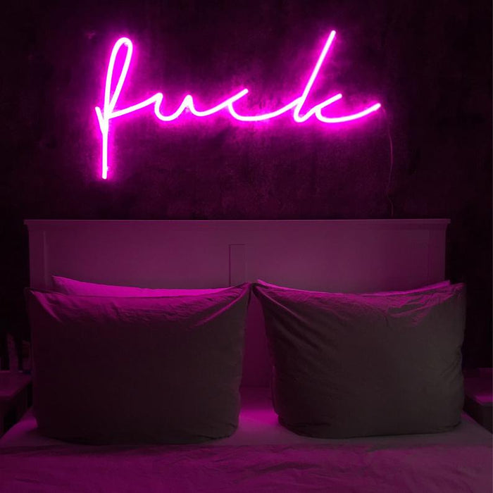 Custom Pink Neon Sign | Led Neon Sign, Girl Neon Sign, Bedroom Light, Home Decor, Pink, Pink Art