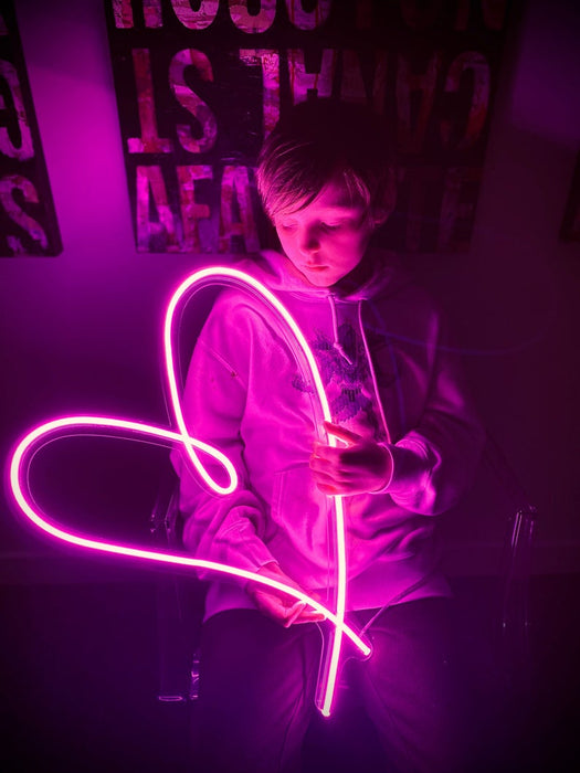 LED Neon Sign - Large Heart