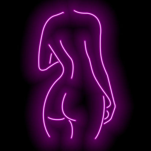 Nude Lady Neon Sign Room Home Arts Wall Hangings Led neon sign Lighting