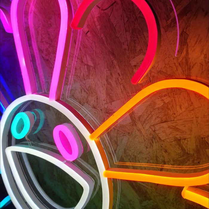 Flower by Takashi Murakami LED Neon Sign