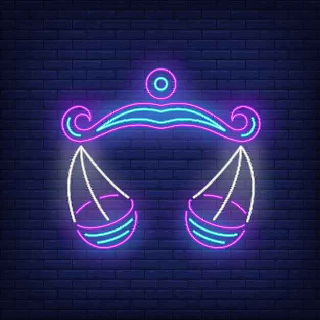 Libra neon sign  Lights