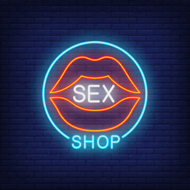 Sex Shop LED Neon Sign