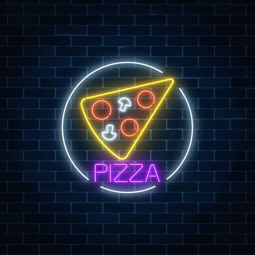 Pizza  LED Neon Sign