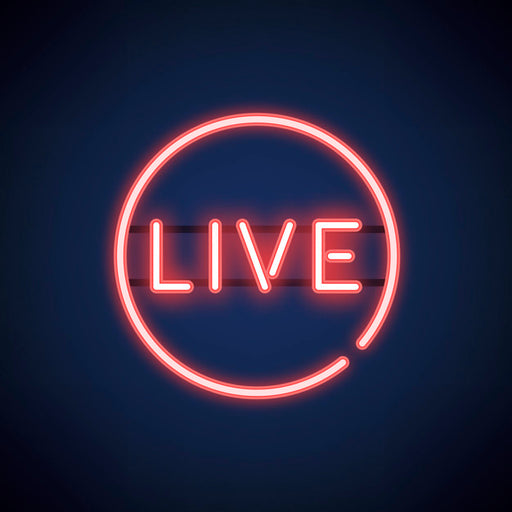 Live Music Neon Sign