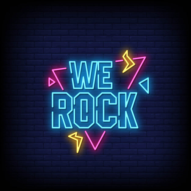 We rock neon signs