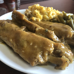 Smothered Turkey Wings Dinner with Sides