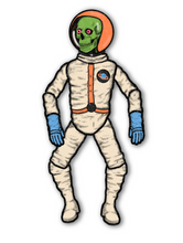 Load image into Gallery viewer, Fully Jointed Retro Outer Space Skeleton