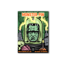 Load image into Gallery viewer, Frankenstein Monster Halloween Lapel Pin