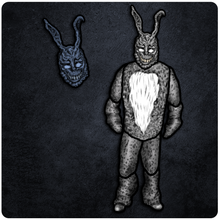 Load image into Gallery viewer, April Horror/Sci-Fi Release - Donnie Darko Frank the Bunny Cutout & Jointed Cutout Set