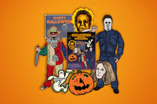 Load image into Gallery viewer, Halloween Film Series Inspired Decorama Collector's Set