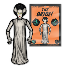 Load image into Gallery viewer, Retro Inspired Halloween Jointed Cutout Bride Decoration
