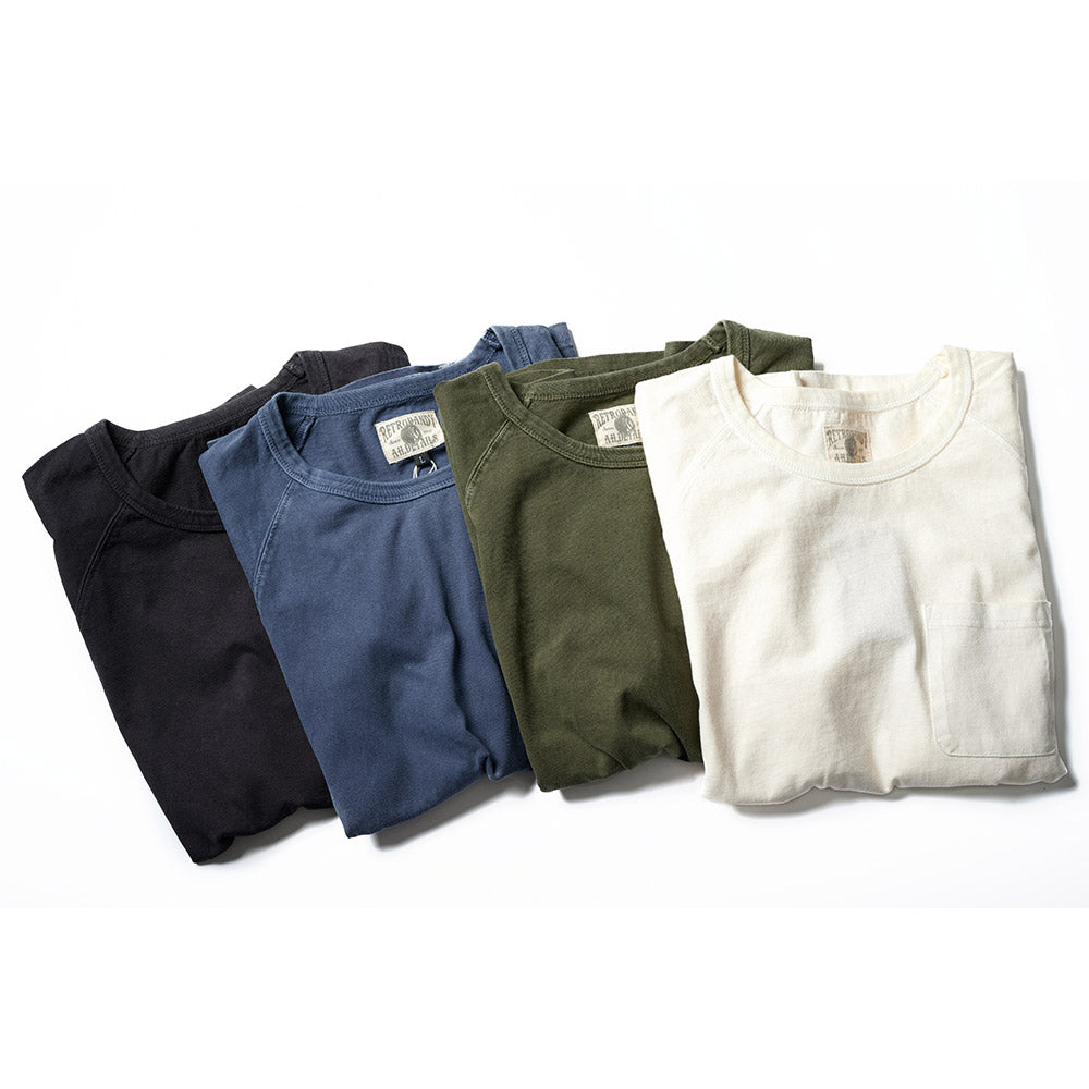 Washed Pocket Tee - Indigo