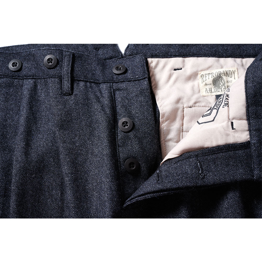 W.Gents Trousers - Black