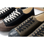 Load image into Gallery viewer, Military HBT Canvas Shoes - Black