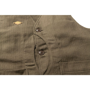 RD x OS Wu Song Hunting Vest - Olive