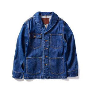 French Work Jacket - Indigo