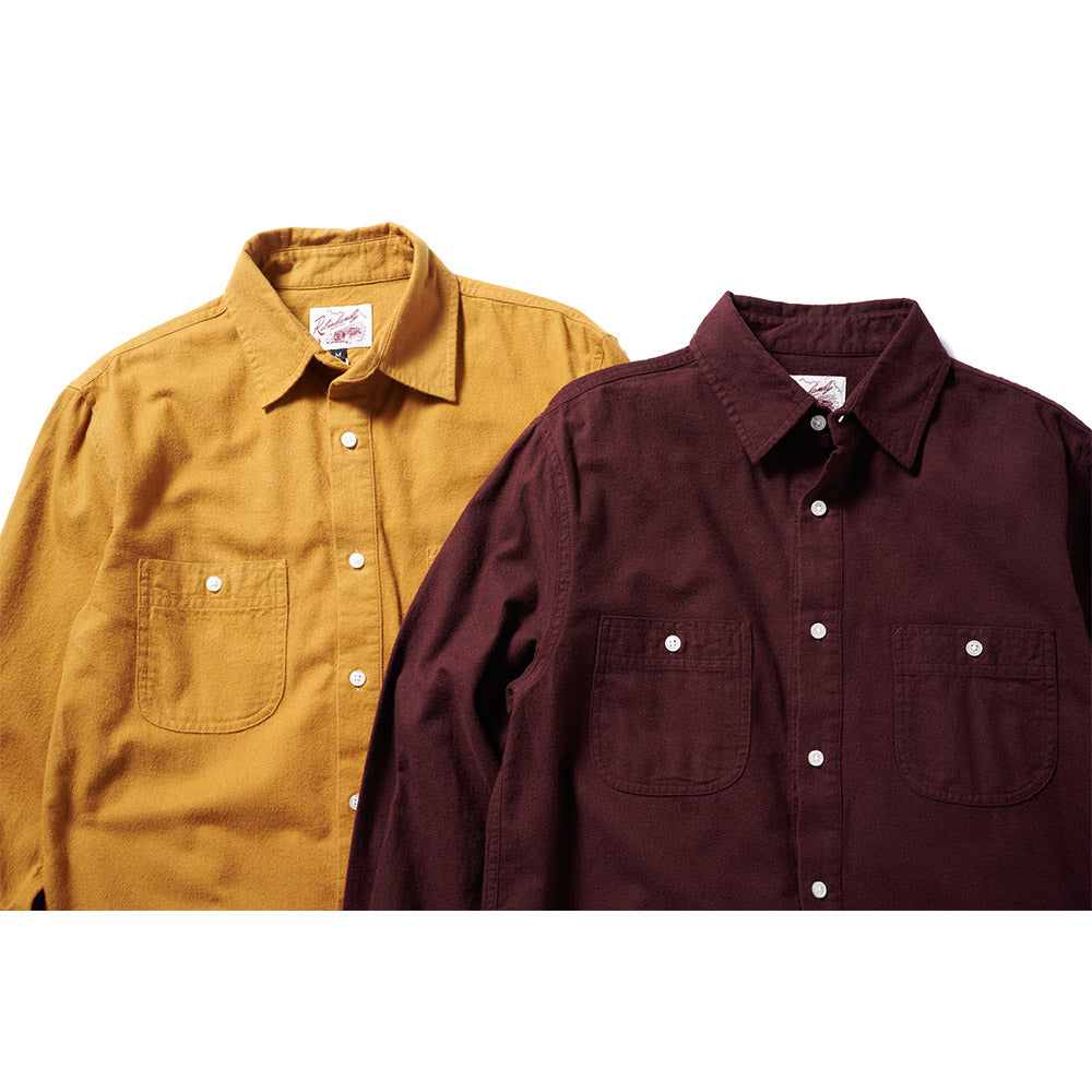 Chamois Shirt - Burgundy