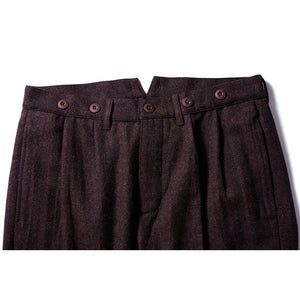 W.Gents Trousers - Brown