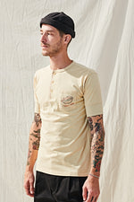 Load image into Gallery viewer, Race Lady Henley - Khaki