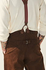 Load image into Gallery viewer, Corduroy Trousers - Brown