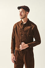 Load image into Gallery viewer, Corduroy Type I Jacket - Brown