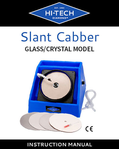 Hi-Tech Diamond slant cabber instruction manual