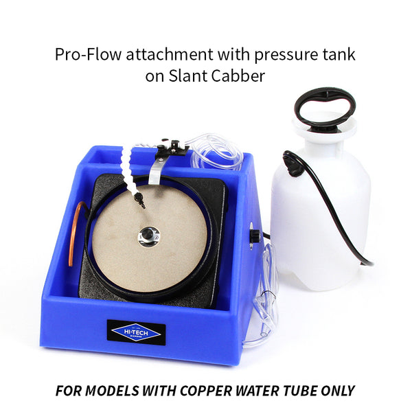 Hi-Tech Diamond Pro-Flow attachment with pressure tank Slant Cabber copper tube