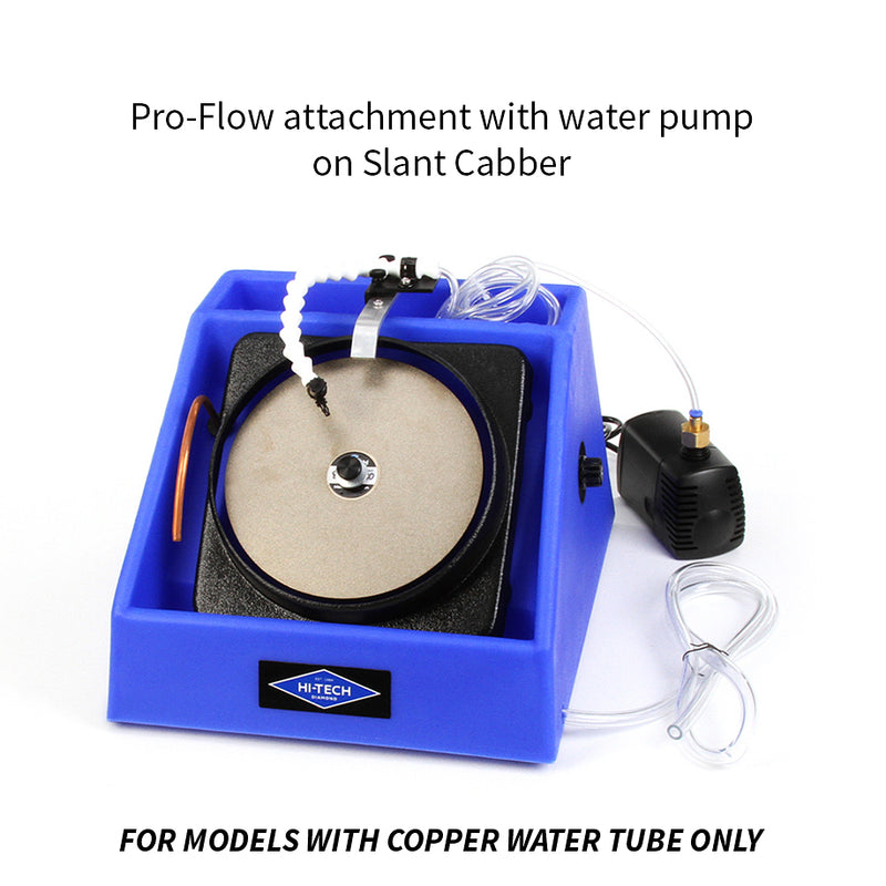 Hi-Tech Diamond Pro-Flow attachment with water pump Slant Cabber copper tube