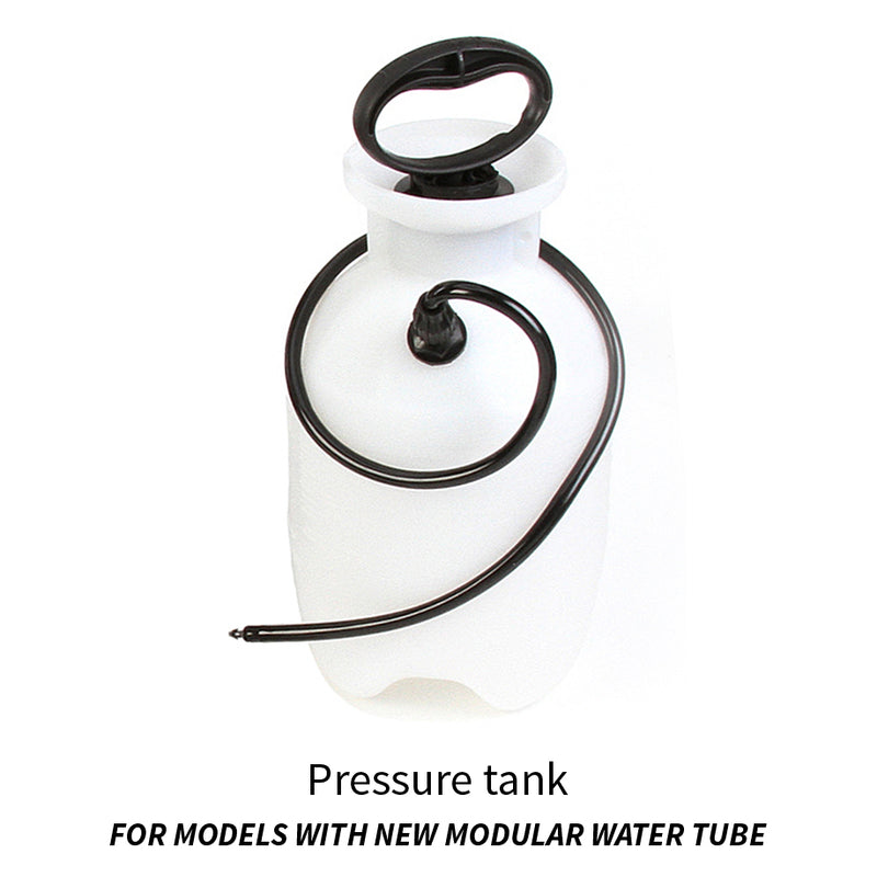 Hi-Tech Diamond Pro-Flow pressure tank on Slant Cabber