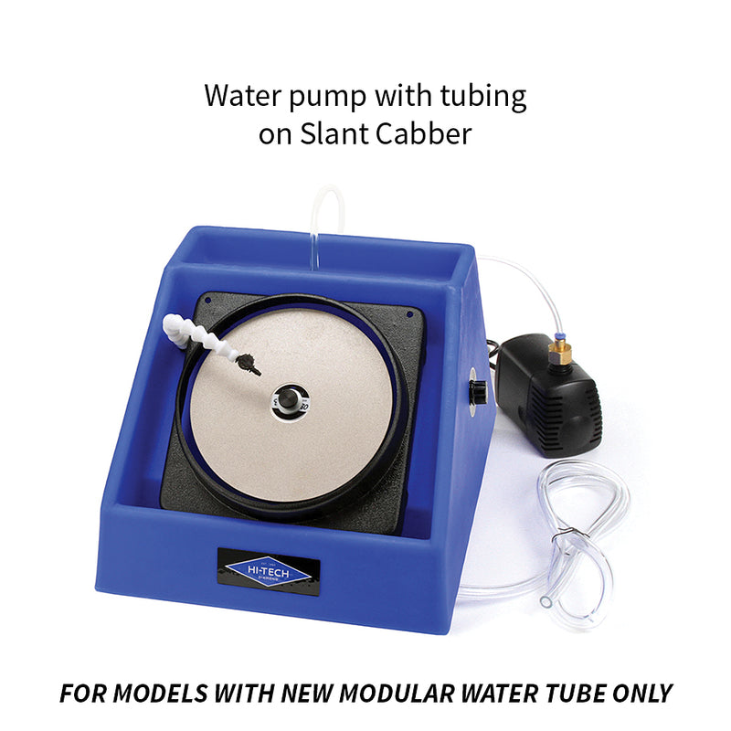 Hi-Tech Diamond Pro-Flow water pump and tubing Slant Cabber