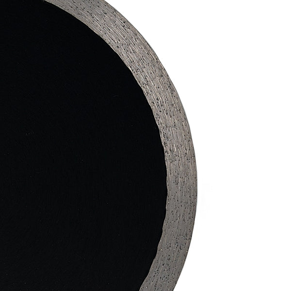Hi-Tech Diamond thick sintered diamond saw blade closeup