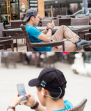 WIRELESS BASEBALL HEADSET CAP