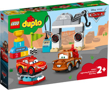 Load image into Gallery viewer, LEGO® DUPLO® │ Disney and Pixar Lightning McQueen's Race Day 10924