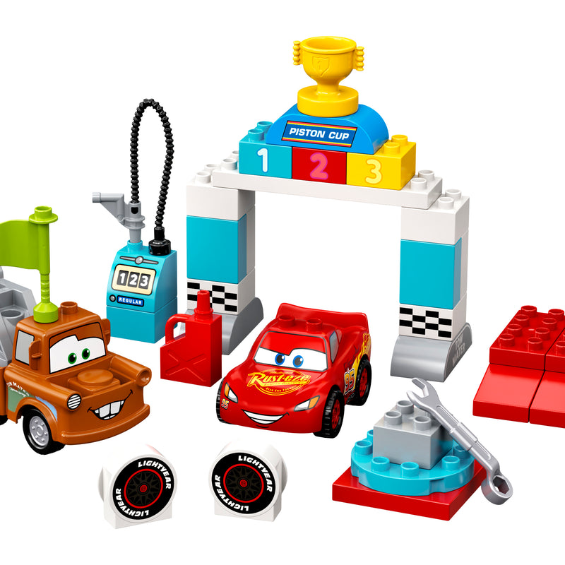 LEGO® DUPLO® │ Disney and Pixar Lightning McQueen's Race Day 10924