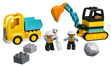 Load image into Gallery viewer, LEGO® DUPLO® Truck & Tracked Excavator 10931