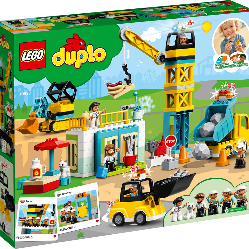 LEGO® DUPLO® Construction Tower Crane & Construction 10933