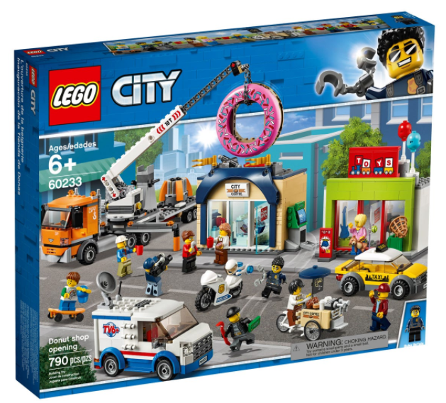 LEGO® City Donut Shop Opening 60233