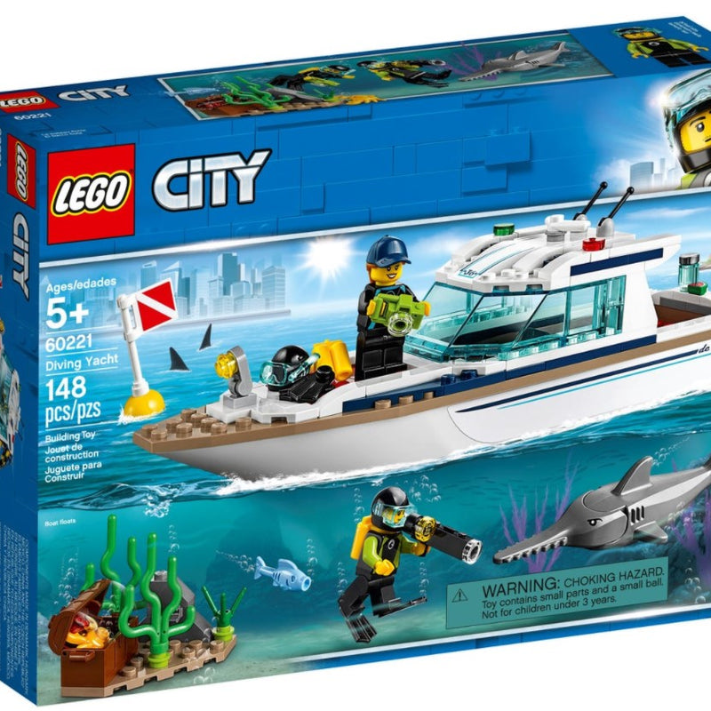 LEGO® City Diving Yacht 60221