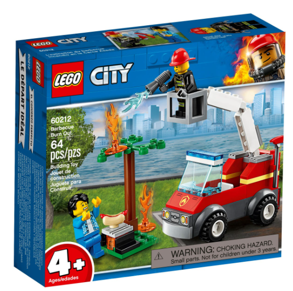 LEGO® City Barbecue Burn Out 60212