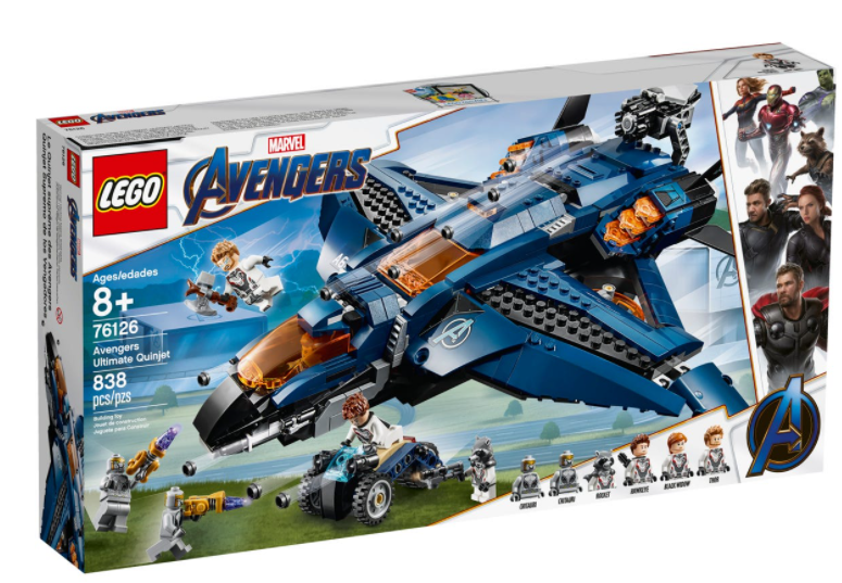 LEGO® Marvel Avengers Ultimate Quinjet 76126