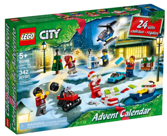 LEGO® City Advent Calendar 60268