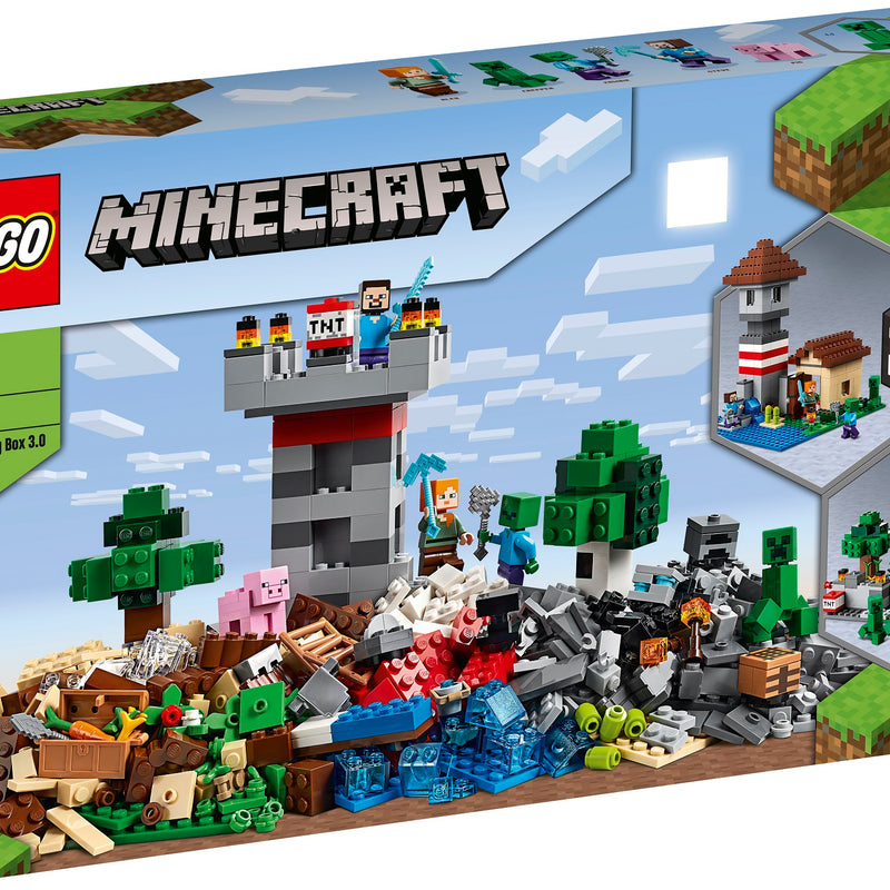 LEGO® Minecraft™ The Crafting Box 3.0 21161